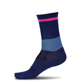 Cube High Cut Chaussettes, blue´n´pink